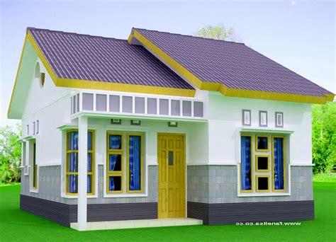 model rumah  sederhana hemat biaya bergaya