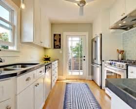 narrow galley kitchen design ideas 4 decorating ideas how to a galley kitchen look bigger narrow kitchen