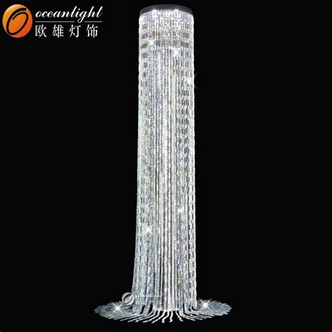 customer size chandelier floor standing chandelier