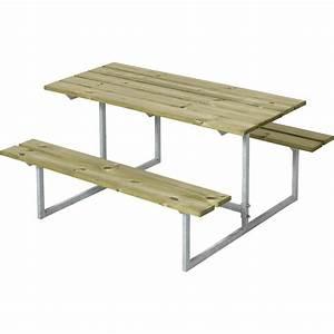 Table Pique Nique Enfant : table pique nique enfant design en bois autoclave 110x110x57cm ~ Dailycaller-alerts.com Idées de Décoration
