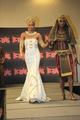 wedding dresses representing ancient queens featured
