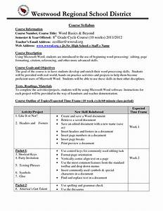 high school syllabus example syllabus college comp With curriculum template