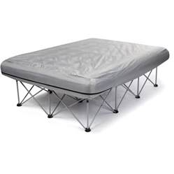 jackeroo anywhere queen air mattress frame kmart