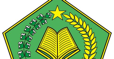 logo departemen agama depag warna blog azis grafis