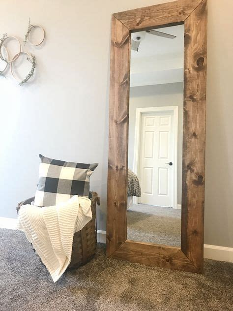 How To Make A Frame For A Bathroom Mirror by How To Build A Diy Wood Mirror Frame Crafts Wood