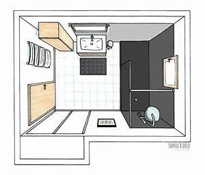 Salle De Bain Blanche Et Bois : salle de bain gris et blanc evtod ~ Preciouscoupons.com Idées de Décoration