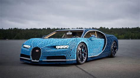 Lego Built A Lifesize Bugatti Chiron You Can Drive Car