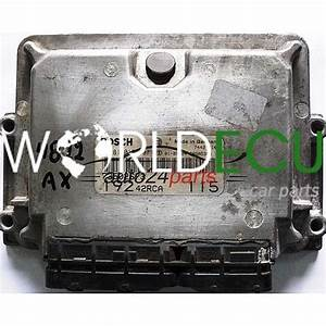 Ecu Engine Controller Fiat Stilo 1 9 Jtd Bosch 0281010337