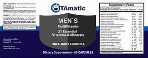 Vitamatic Multivitamin Formulas