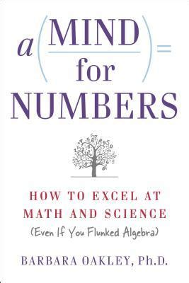 mind  numbers   excel  math  science  barbara oakley