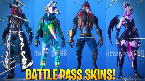 Fortnite All *new* Season 6 Battle Pass Skins! (dj Yonder