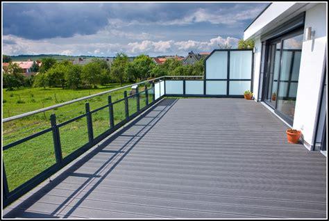 Bodenbelag Balkon Terrasse Holz