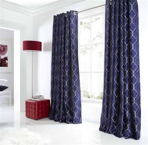navy blue curtain panels myideasbedroom