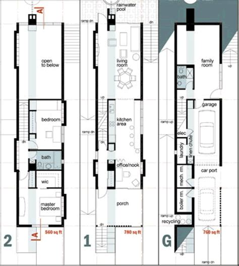 narrow house plans house plans and home designs free archive narrow