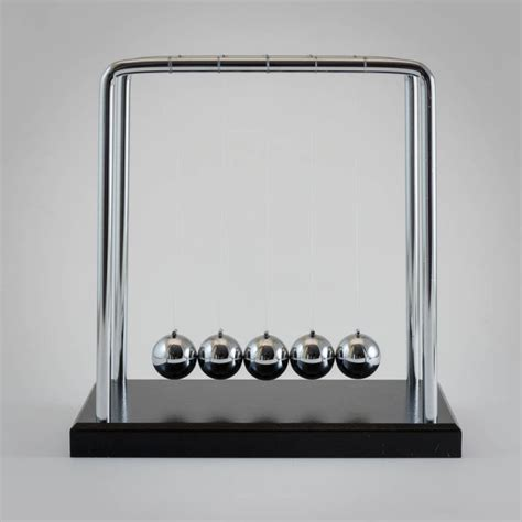 wooden swing newtons cradle cradle distraction toys cheap sensory