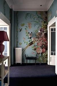 Wall Art Tapeten : 1001 mod les de papier peint tropical et exotique ~ Markanthonyermac.com Haus und Dekorationen