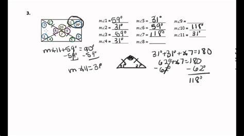 Unit 7 polygons quadrilaterals homework 4 rectangles answers : Homework 3 Rectangles - YouTube