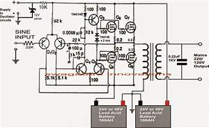 Circuit Diagram For Inverter Design