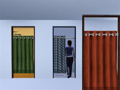 diy curtain cyclonesue 39 s sliding curtain cubicle door