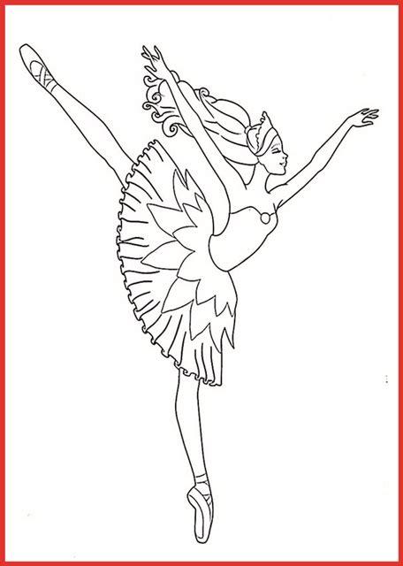ausmalbild barbie ballett rooms project