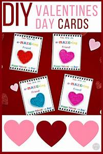 DIY Valentine39s Day Cards For Kids With Free Printable