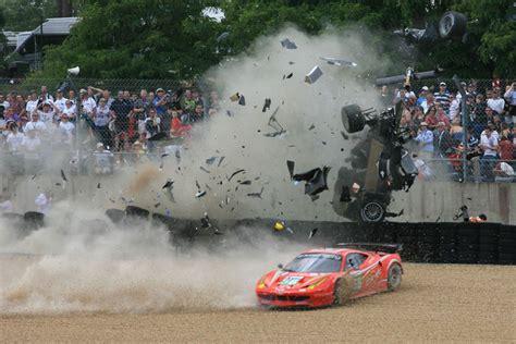 Horrible Audi Lemans Crash