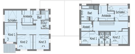 Grundriss Treppe Mittig by Holzhaus Baufritz Haus Nilles