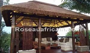 Tonnelle En Bambou : pergola paille rev tements modernes du toit ~ Premium-room.com Idées de Décoration