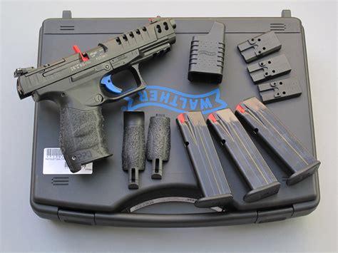 la chambre bleue essai armes pistolet walther modèle q5 match
