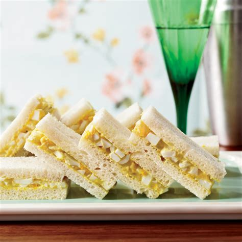 Curriedegg Tea Sandwiches Recipe  Martha Hall Foose