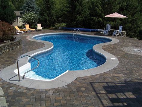 radiant inground mountain lake pool pools