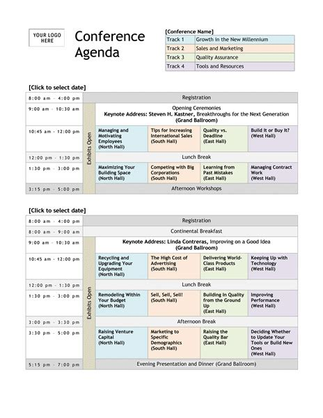 itinerary template 15 meeting agenda templates excel pdf formats