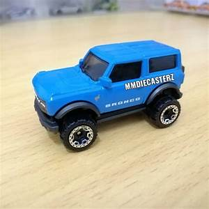 2021 Ford Bronco Hot Wheels Leaked, Sasquatch Package Looks Amazing - autoevolution