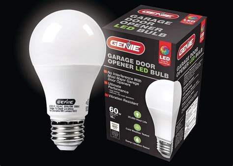 Garage Door Remote Interference by The Genie Company Releases Led Bulbs That Don T Interfere