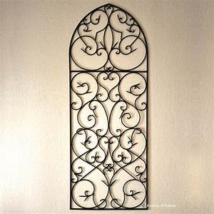 Large Wrought Iron Wall Decor Indoor : Perfect Large