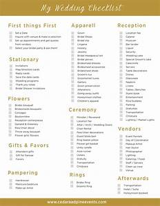 ideas interesting diy wedding checklist morgiabridalcom With coordinating a wedding ceremony