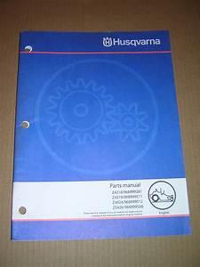 Husqvarna Zero Turn Mower Parts Manual  Z4218  Z4219
