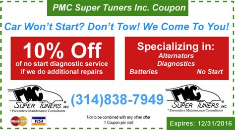 general motors repair coupons