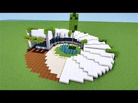 minecraft tuto comment faire une maison moderne en spirale map
