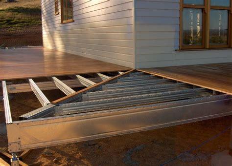 corner  deck frame  boxspan outdoor living deck