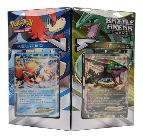 pokemon battle arena decks rayquaza vs keldeo deck da