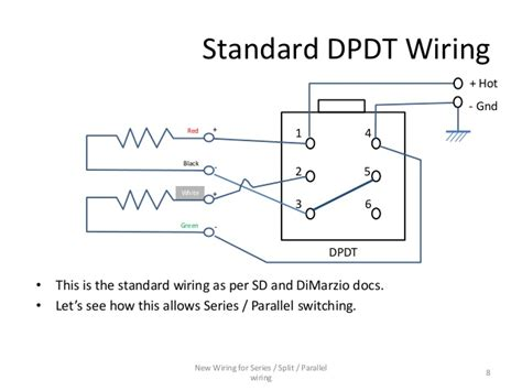 Wireing Diagram Parallel And Series Wiring by Series Parallel Wiring Diagram For 4 Conductor Humbucker