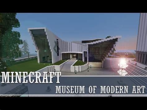 Minecraft  Museum Of Modern Art Youtube