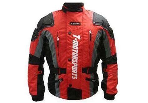 Mens Armored Motorcycle Jacket