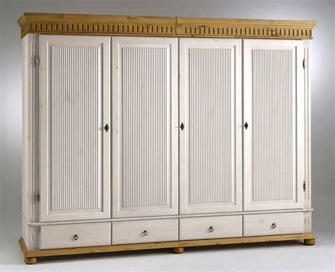 Weiße Antike Möbel by Kleiderschrank 4t 252 Rig 252x199x62cm Durchgehende