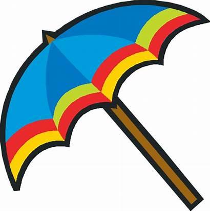 Umbrella Clipart Clip Patio Colorful Umbrellas Advertisement