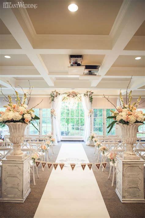Indoor Secret Garden Wedding Indoor wedding arches