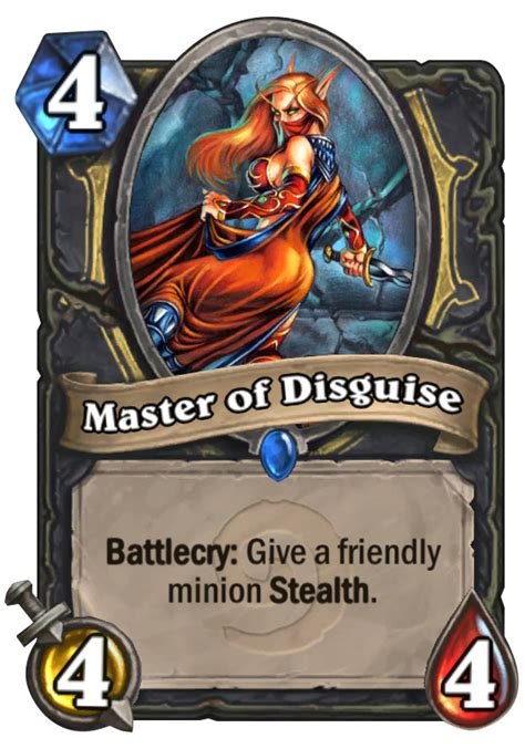 Master Of Cruelties Deck 2014 by Master Of Disguise Hearthstone Card