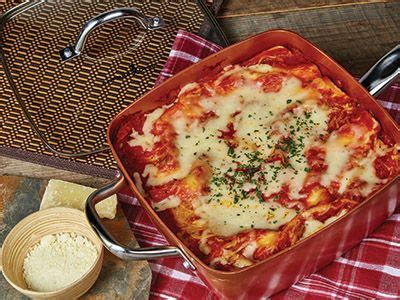 recipes copper chef cookware copper chief recipies pinterest lasagna recipes sauces