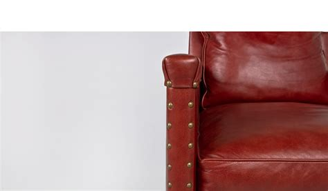rustic leather club chair chr009602 arenson office